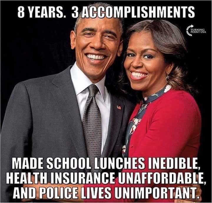 Barack and Michelle Obama's failed accomplishments