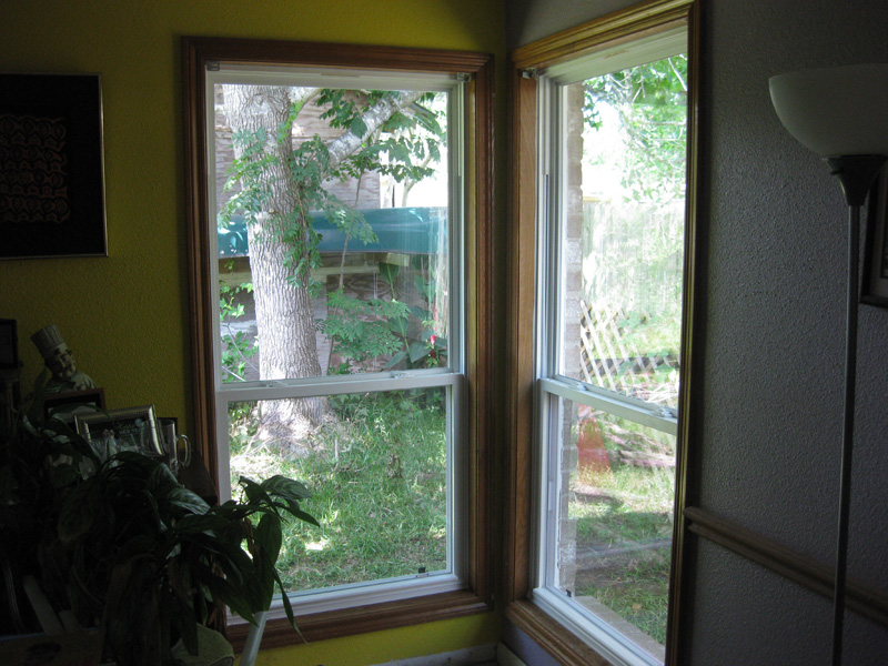 Colorful walls & energy efficient windows