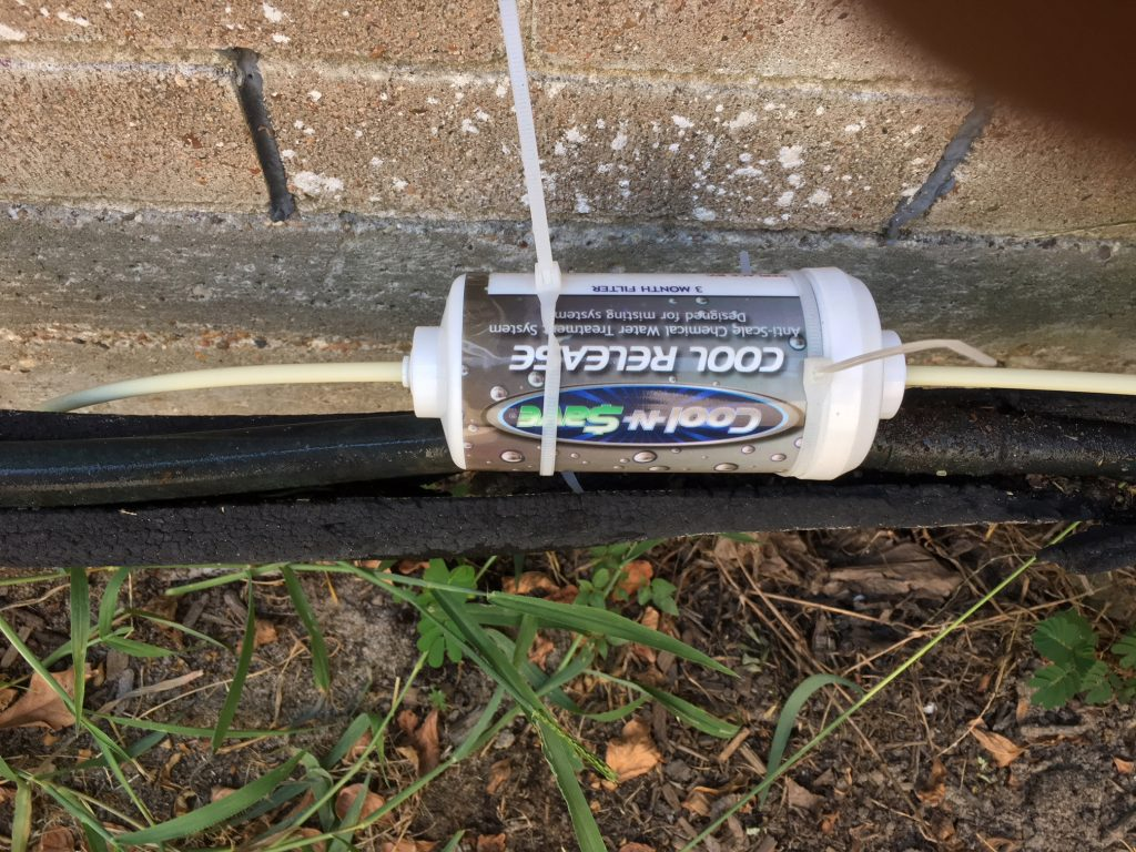 Cool-N-Save mister water filter
