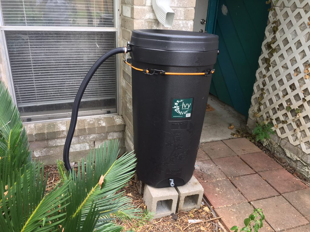 A Rainwater Harvesting Barrel