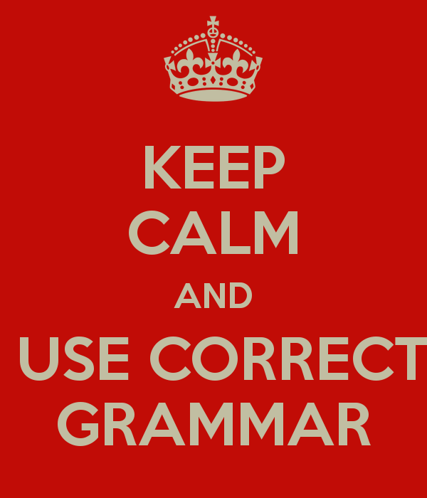 Don't Make Grammar Blunders