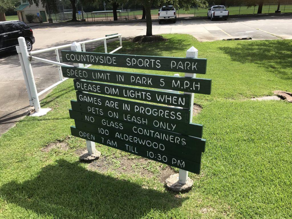 Countryside Sports Park, League City, Texas