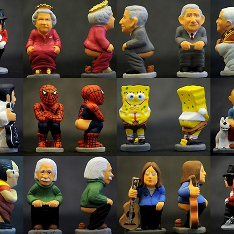Caganer, the pooping Christmas figurine from Catalonia