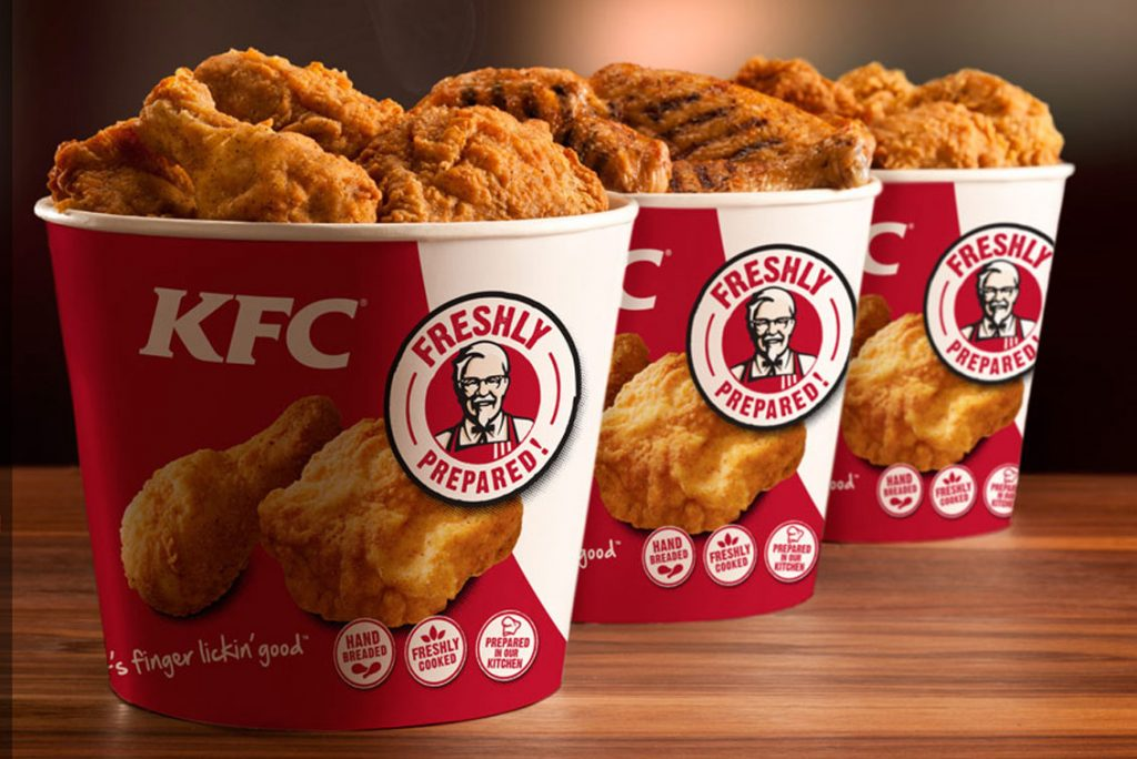 Kentucky Fried Chicken Buckets