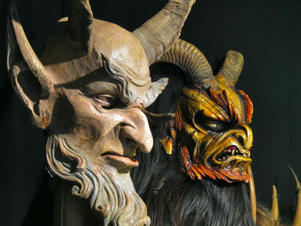 Krampus, Christmas demon from Austria