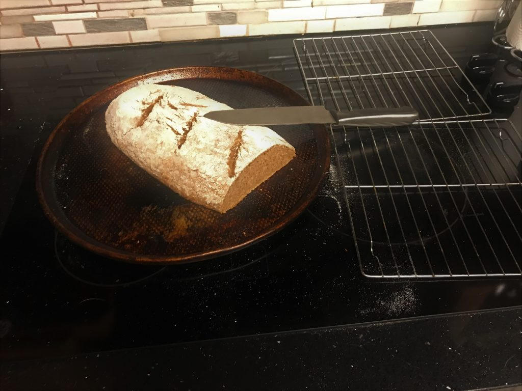 Hot, fresh homemade bread