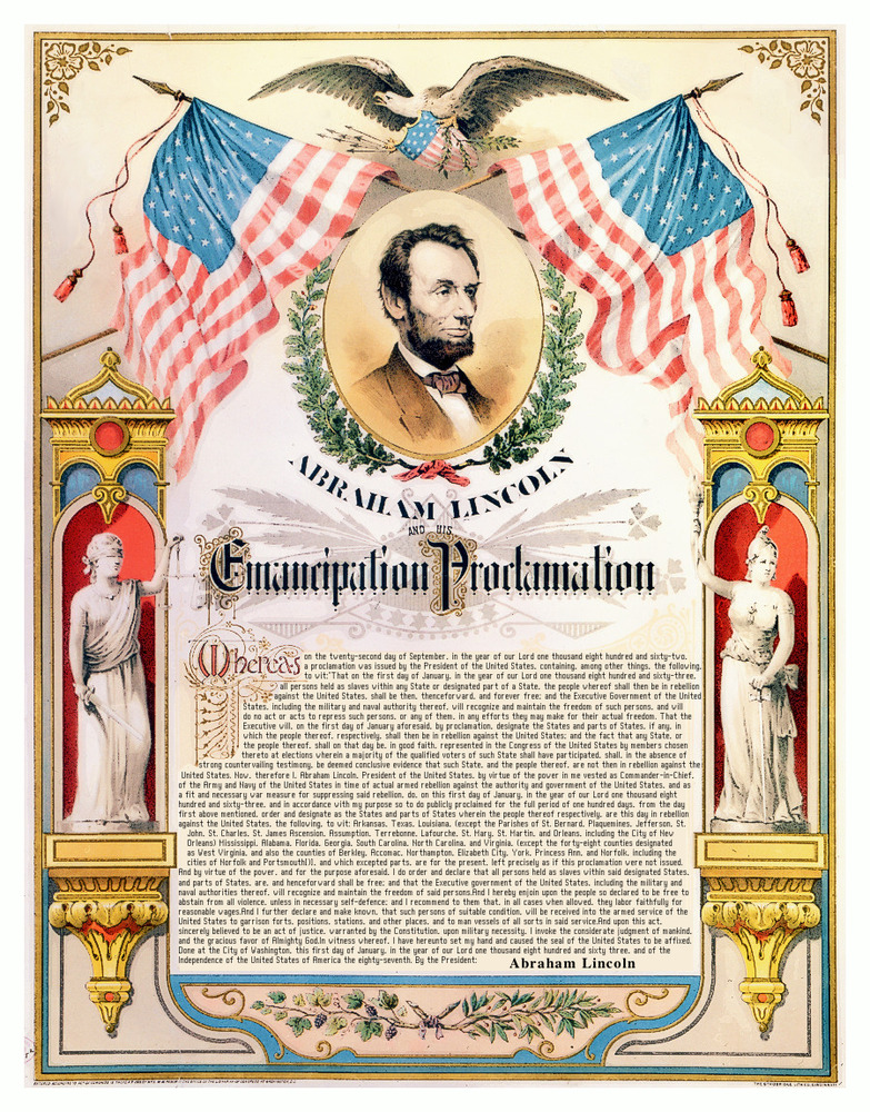 Abraham Lincoln's Emancipation Proclamation