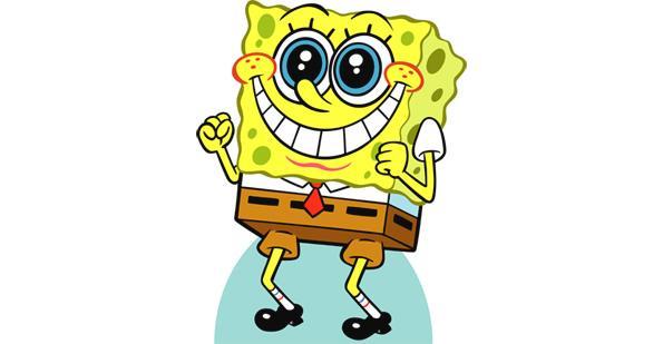 Sponge Bob rarin' to go