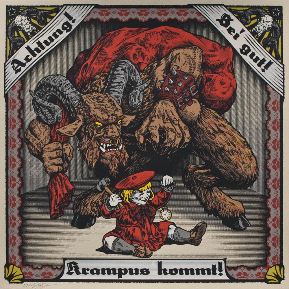 Impending doom at the hands of Krampus