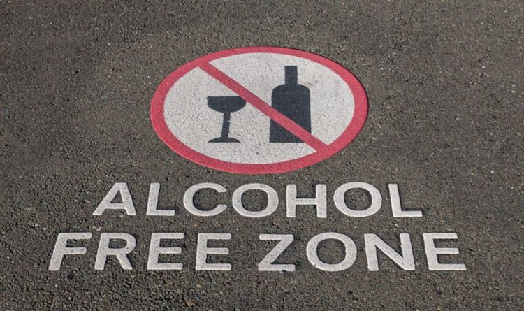 You are now entering the alcohol free zone