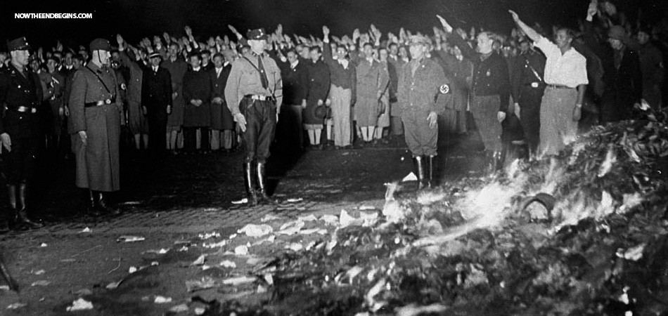 Nazi book burning; an act of cancel culture