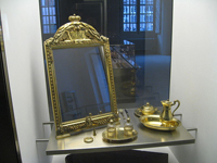 Mirror from Nécessaire de la Princesse de Deux-Ponts; photo courtesy Gryffindor