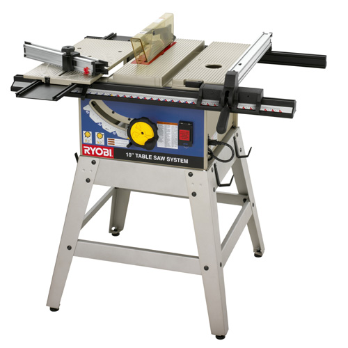 A Ryobi Benchtop Table Saw