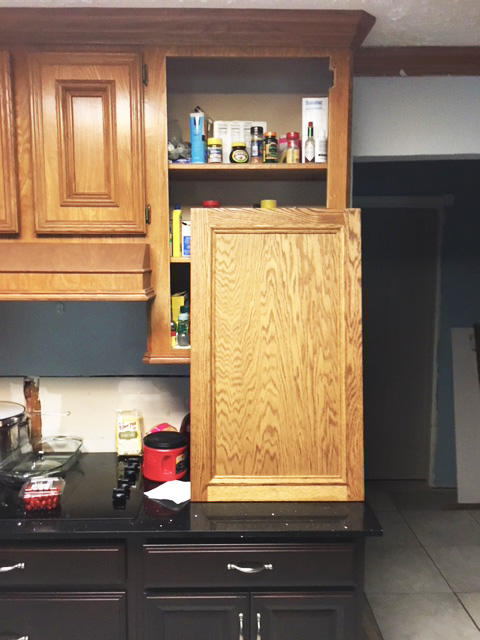 Cabinet Door Construction