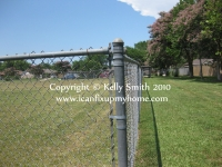 A Chain Link or Cyclone Fence, photo courtesy Kelly Smith