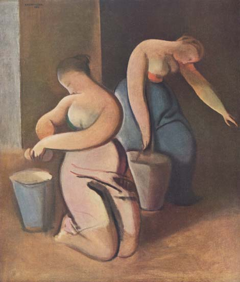 Ladies cleaning; image courtesy Rudolf Kremlicka