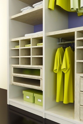 Closet organization solutions; photo courtesy Sarah Harris