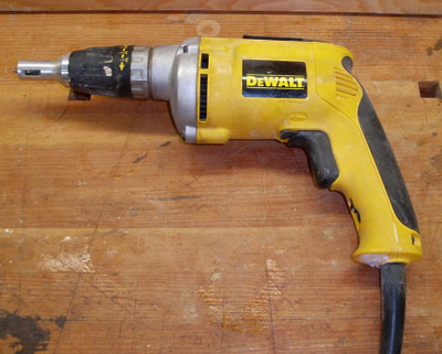 A DeWalt Screwgun; photo courtesy Luigizanasi
