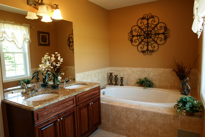 Decorate your half-bath for home equity, photo courtesy Alyssa Davis