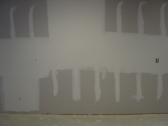 Taped and Floated Wall