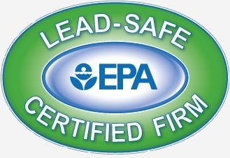 The EPA Leadsafe certification logo, photo courtesy of the EPA