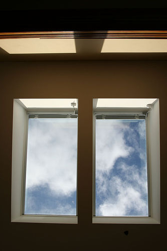 An energy efficient skylight; Photo courtesy Malia Anderson