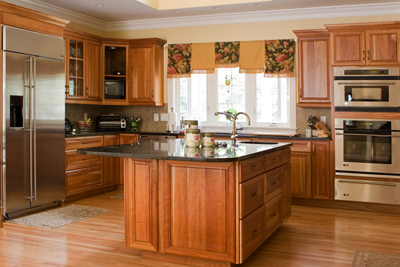 Granite countertops are a sustainable investment; photo courtesy Alyssa Davis