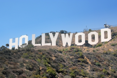 The famous Hollywood on the hill sign; photo by Sorn