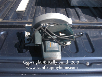 A Makita circular saw; photo courtesy Kelly Smith