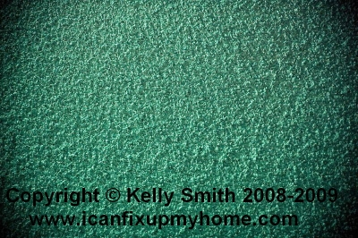A popcorn texture ceiling; photo © 2009 KSmith Media, LLC