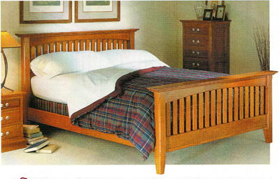 A Rockler bed woodworking plan