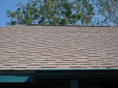 Shingle Roof with Ridge Vents