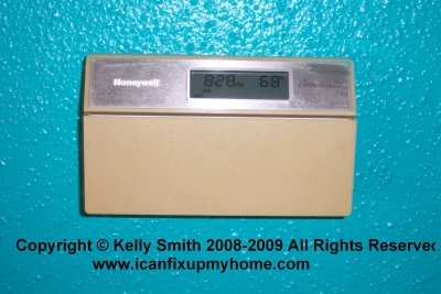 A Honeywell Digital Thermostat
