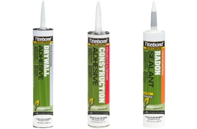 Titebond offers GREENchoice VOC-Compliant construction adhesives, Photo Copyright Kelly Smith