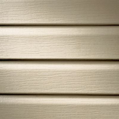 Vinyl siding is available in many colors; photo courtesy Kelly Smith