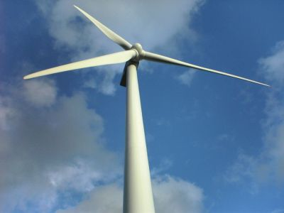 A residential wind turbine for alternative enery generation