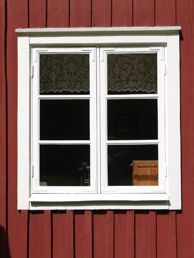 A Window with wood frame; photo courtesy Propa