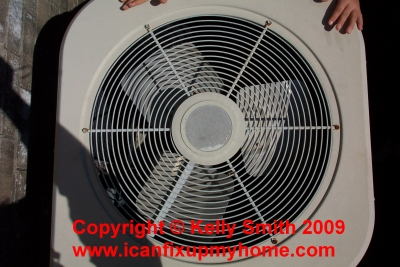 A Residential Central Air Conditioner Condenser
